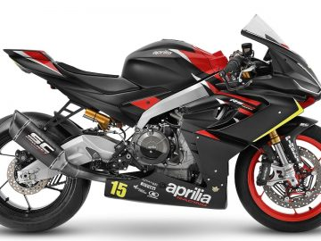 Trofeo Aprilia Racing RS 660 moto