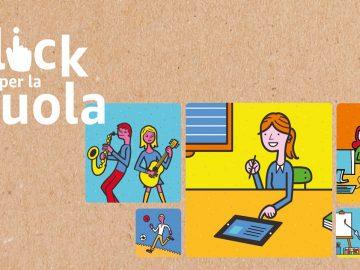 Un click per la scuola amazon