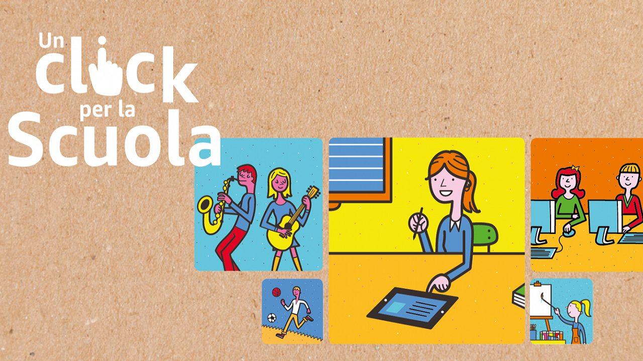 Grande successo per la seconda edizione di Un Click per la Scuola thumbnail