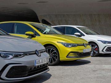 La Volskwagen Golf è la più venduta in Europa nel 2020