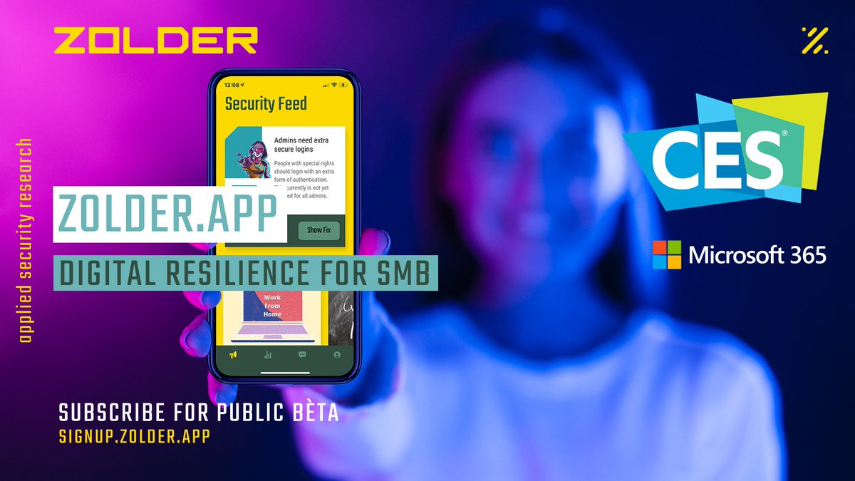 Zolder.App-beta-pubblica-ces-2021-tech-princess