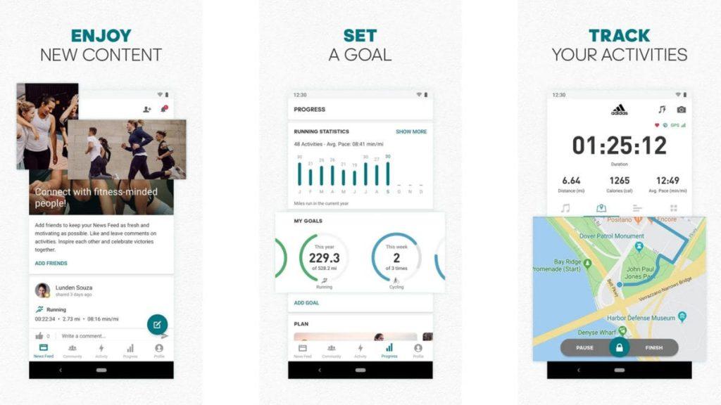 adidas-Runtastic migliori app per correre gratis