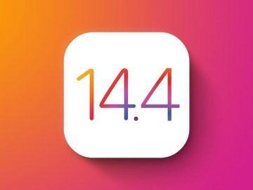aggiornamento ios 14.4