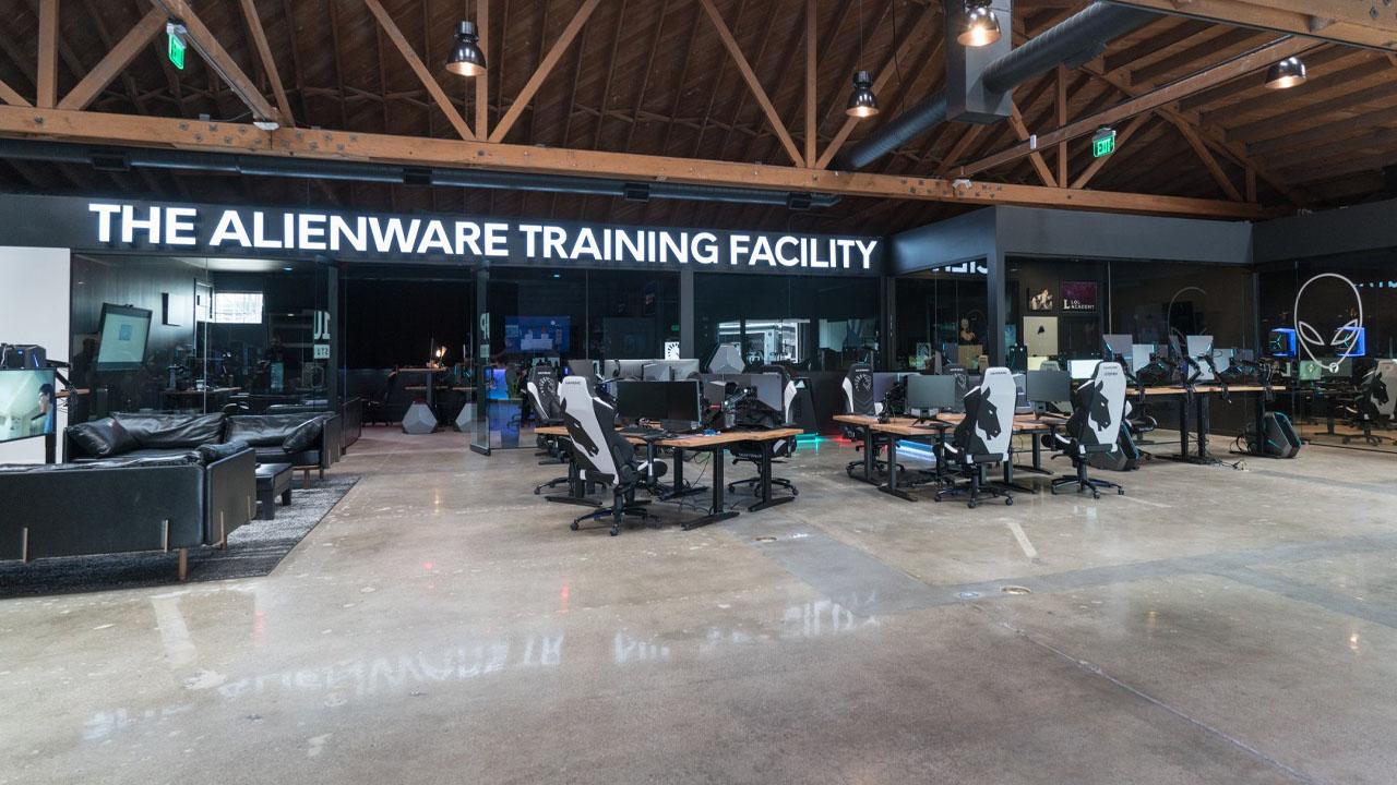 alienware training facility team liquid