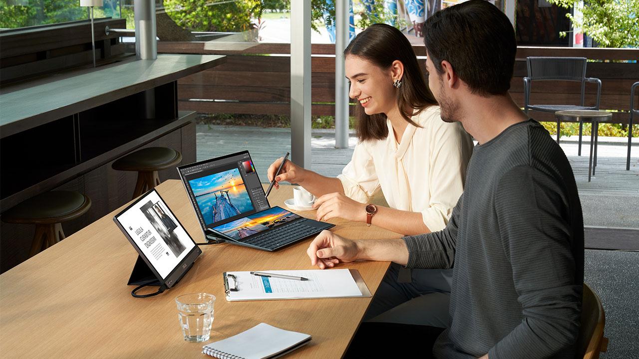 Asus presenta i suoi nuovi ZenBook Duo, Duo Pro e molto altro al CES 2021 thumbnail
