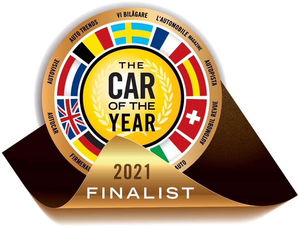 auto dell'anno 2021 logo