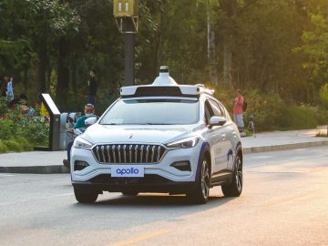 baidu veicoli guida autonoma