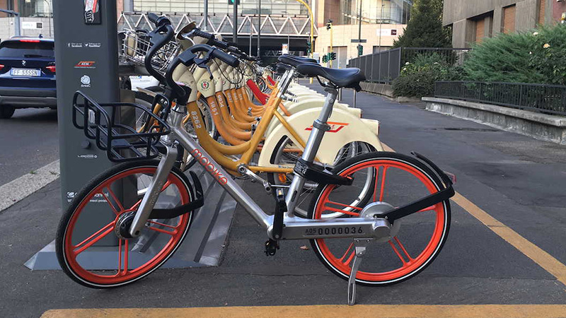 biciclette milano italia bike sharing