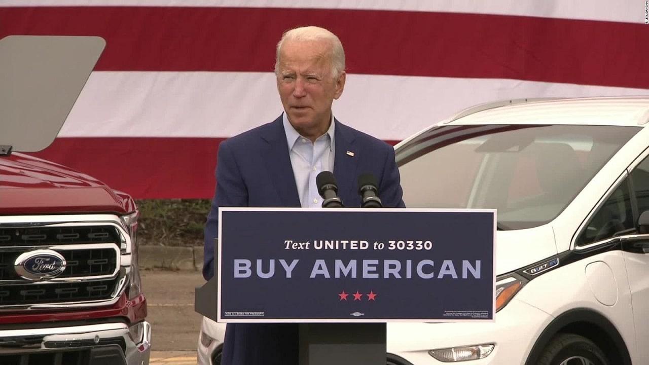 """Biden vuole solo """"auto blu"""" elettriche, già dal 2021 thumbnail"""