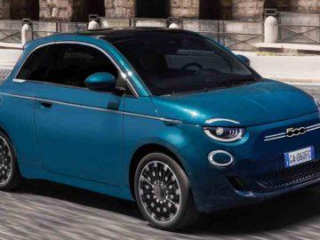 car sharing torino 500 elettrica