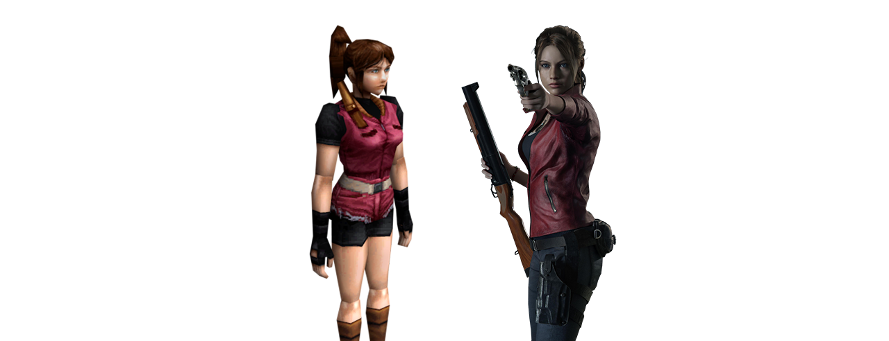 claire redfield donna protagonista resident evil