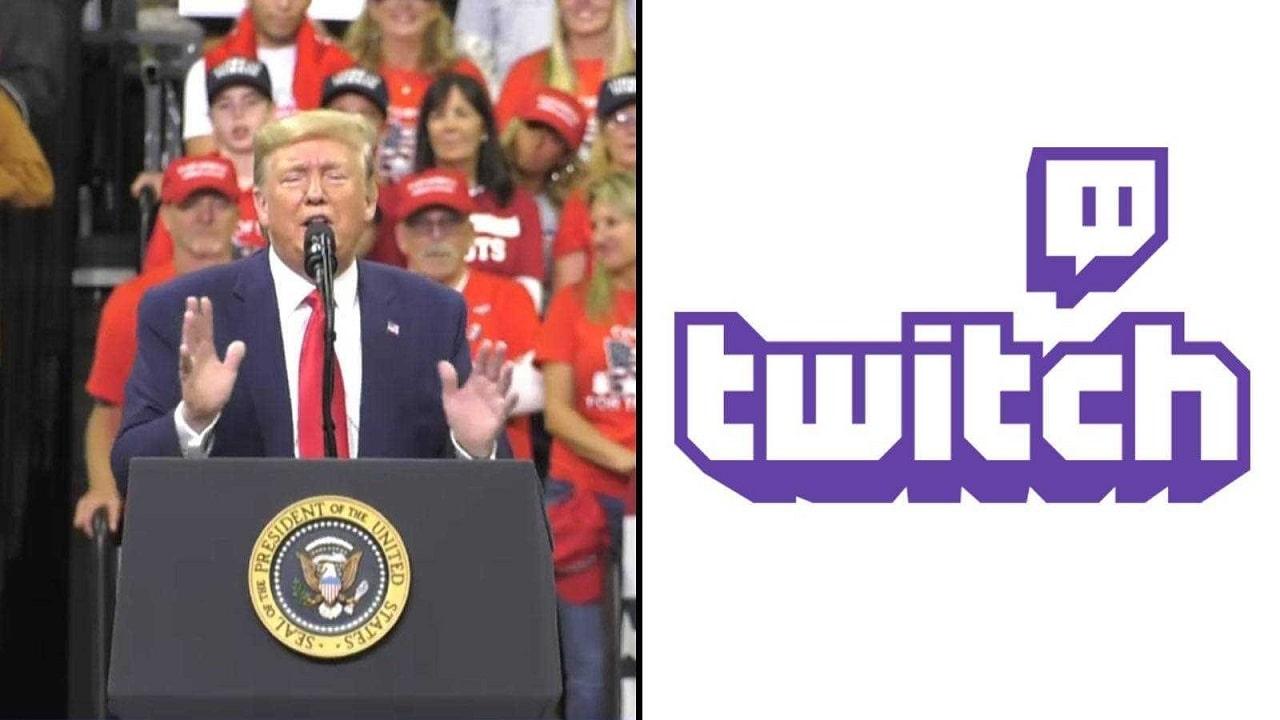 Twitch disabilita l'account di Trump thumbnail