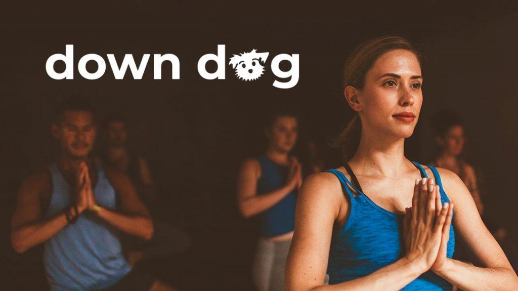 down dog app per lo yoga a casa