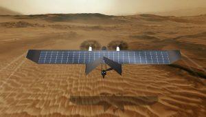 Un drone italiano per l'esplorazione futura di Marte  Il progetto è sviluppato da Vector Robotics