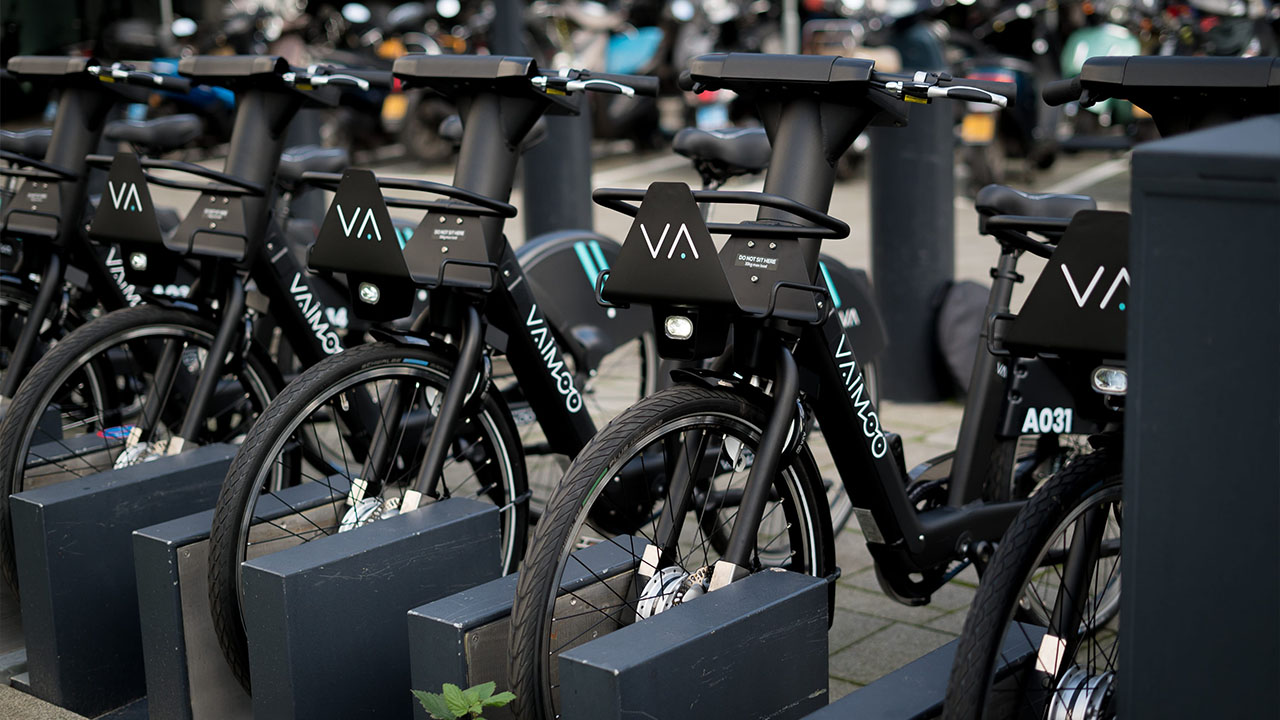 e-bike sharing vaimoo rotterdam
