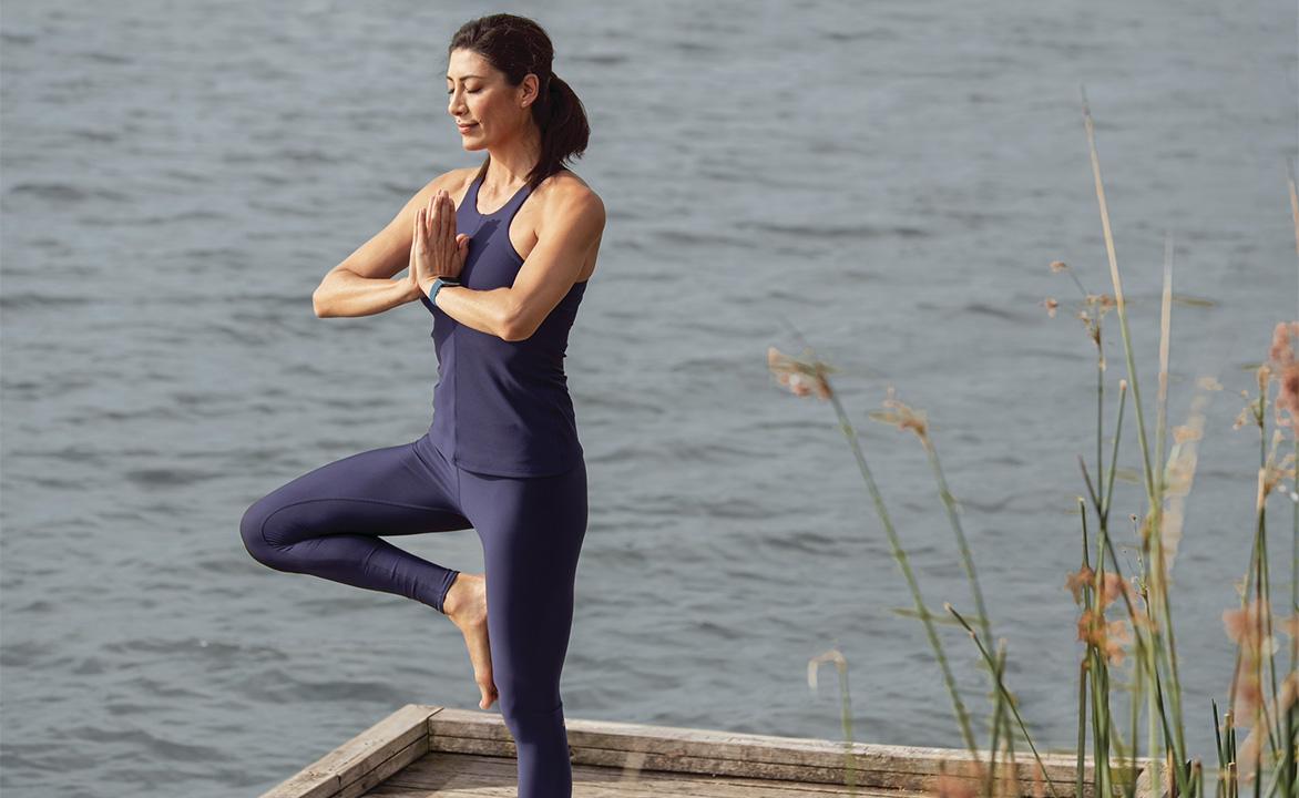 fitbit sense mindfullness yoga meditazione