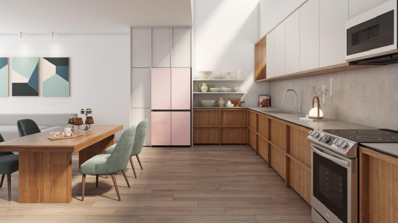 Samsung Bespoke, il frigorifero che fa design arriva in Italia thumbnail