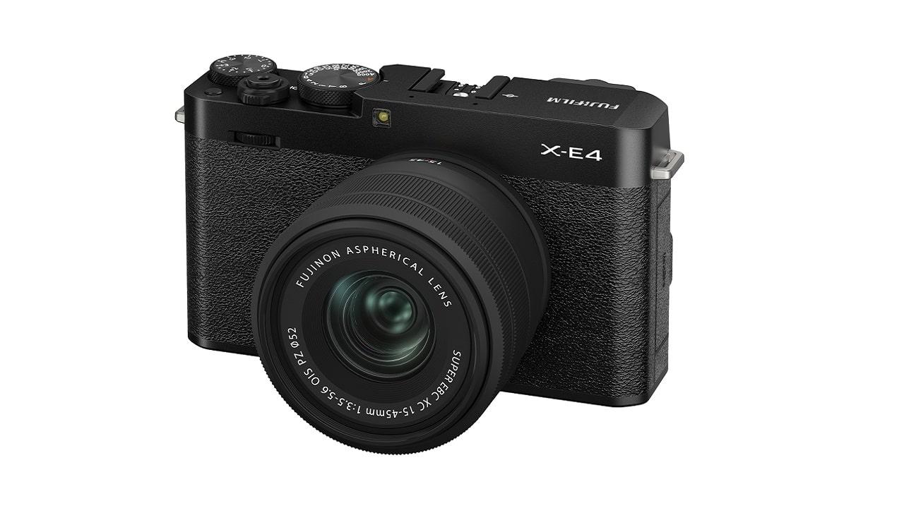 Fujifilm presenta la mirrorless X-E4 e due obiettivi Fujinon thumbnail