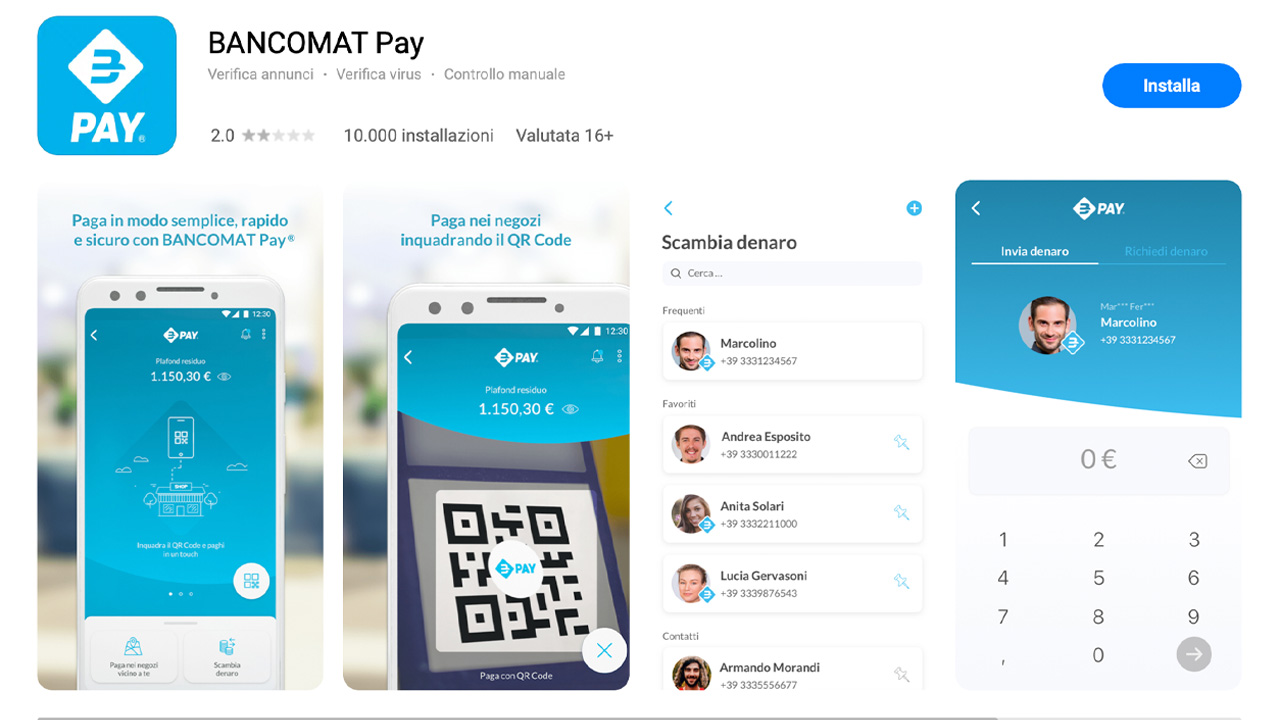 huawei appgallery bancomat pay pagamenti digitali