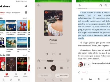 huawei books app ebook e audiolibri