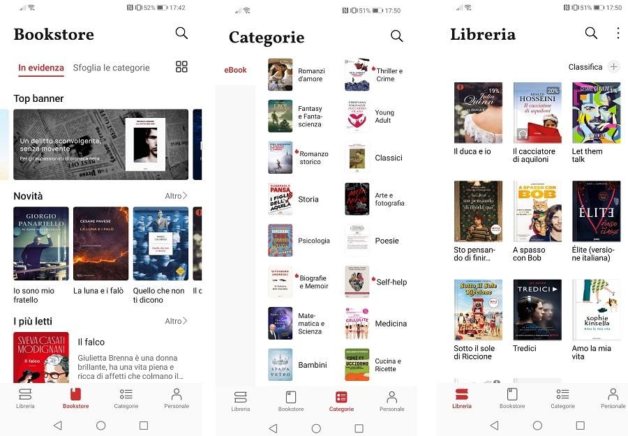 huawei books app ebook