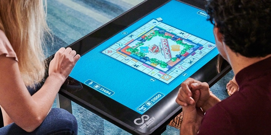 infinity game table ces 2021