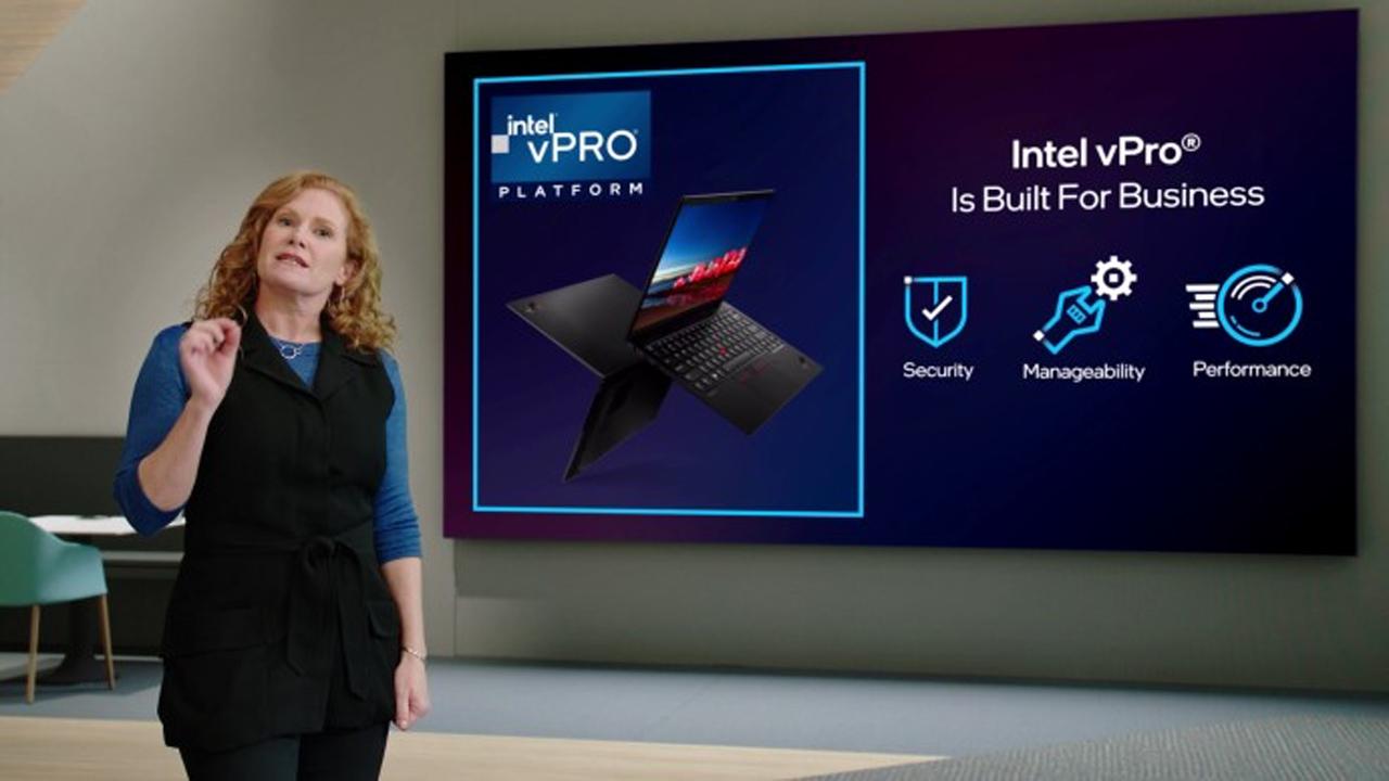 intel vpro platform business