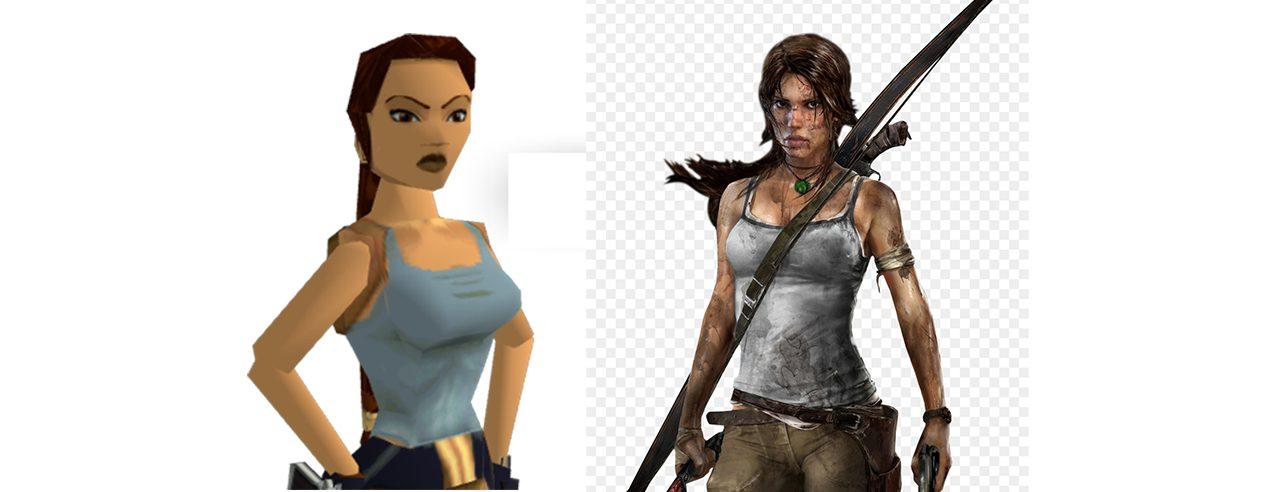 lara croft tomb raider donna protagonista
