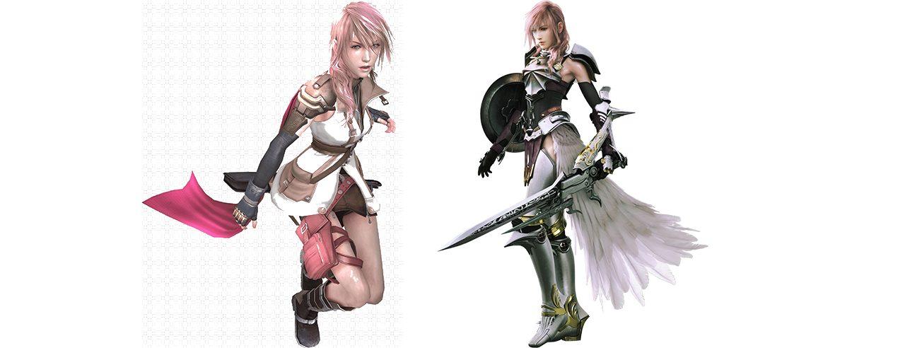 Lightning Final Fantasy XIII figure femminili nei videogiochi