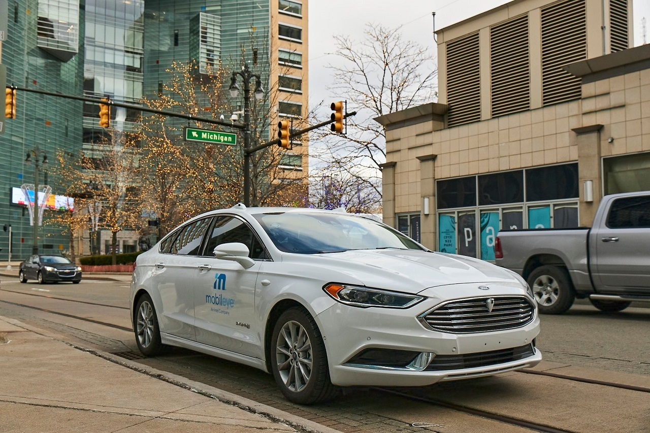 mobileye ford fusion
