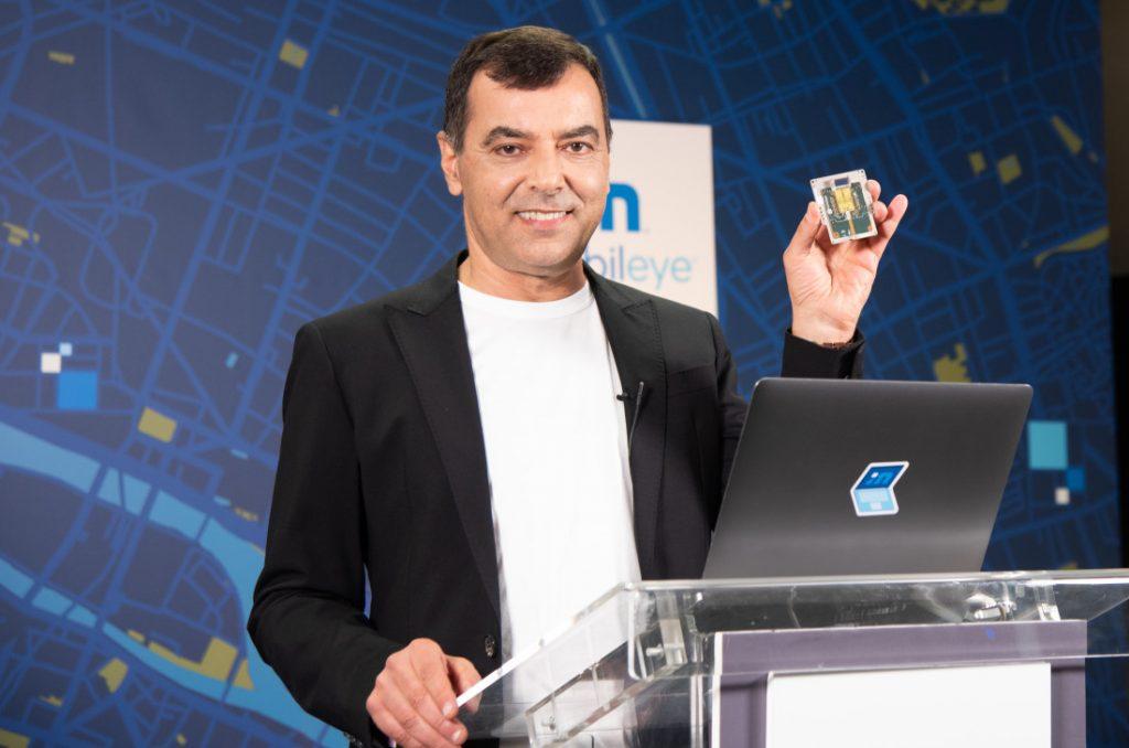 mobileye intel guida autonoma ces 2021 chip