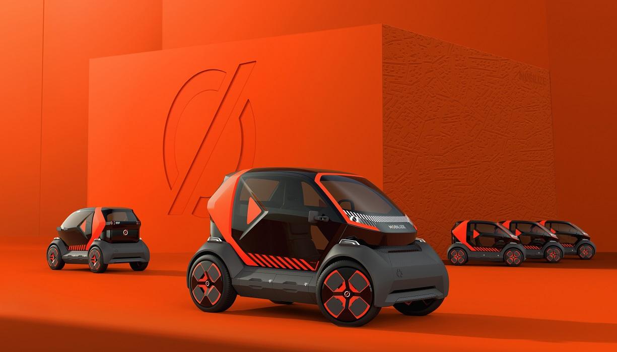 Mobilize EZ-1, il prototipo per la mobilità urbana del nuovo marchio del Gruppo Renault