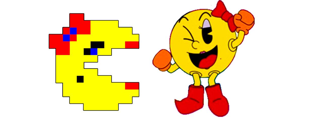 ms. pacman immagine figure femminili nei videogiochi