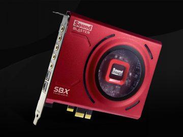 nuova scheda audio creative sound blaster z se