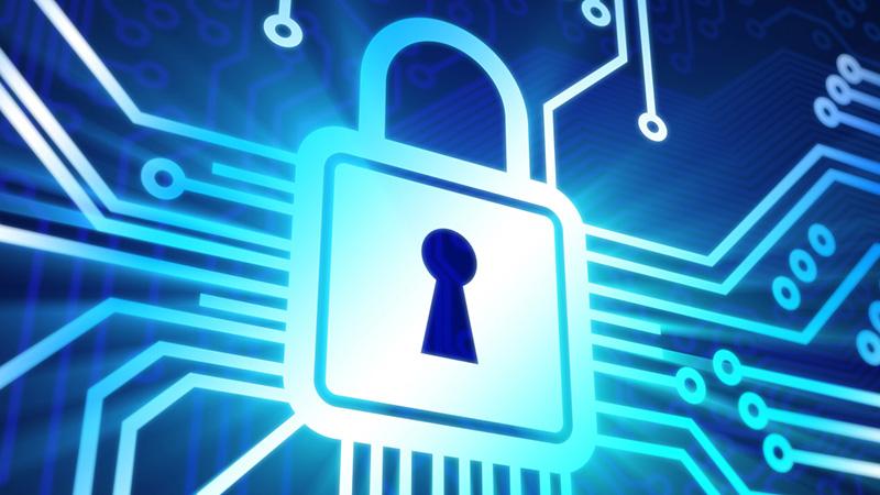 lucchetto dati protetti
