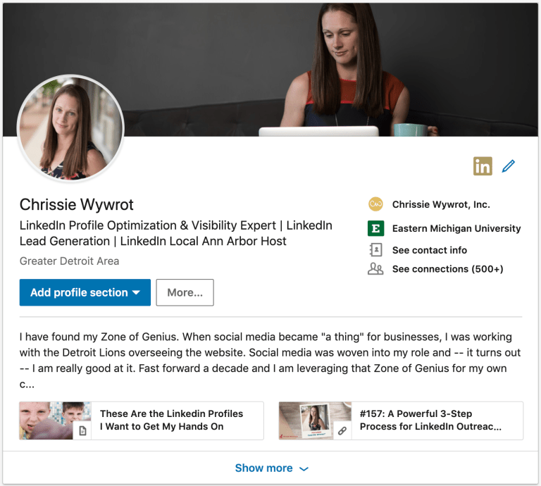 profili LinkedIn