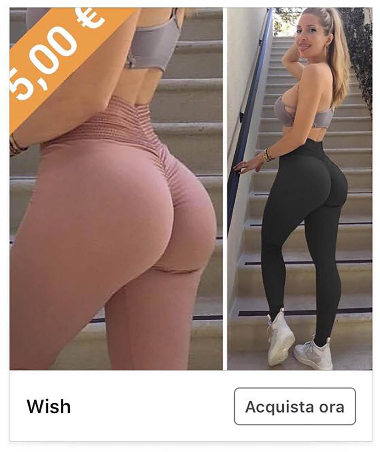 pubblicità wish social