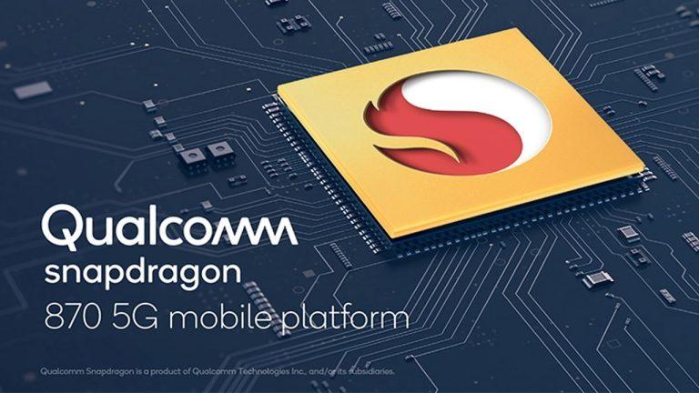qualcomm snapdragon 870 5g mobile platform