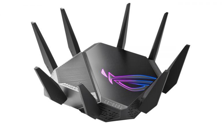 router wifi 6e asus rog