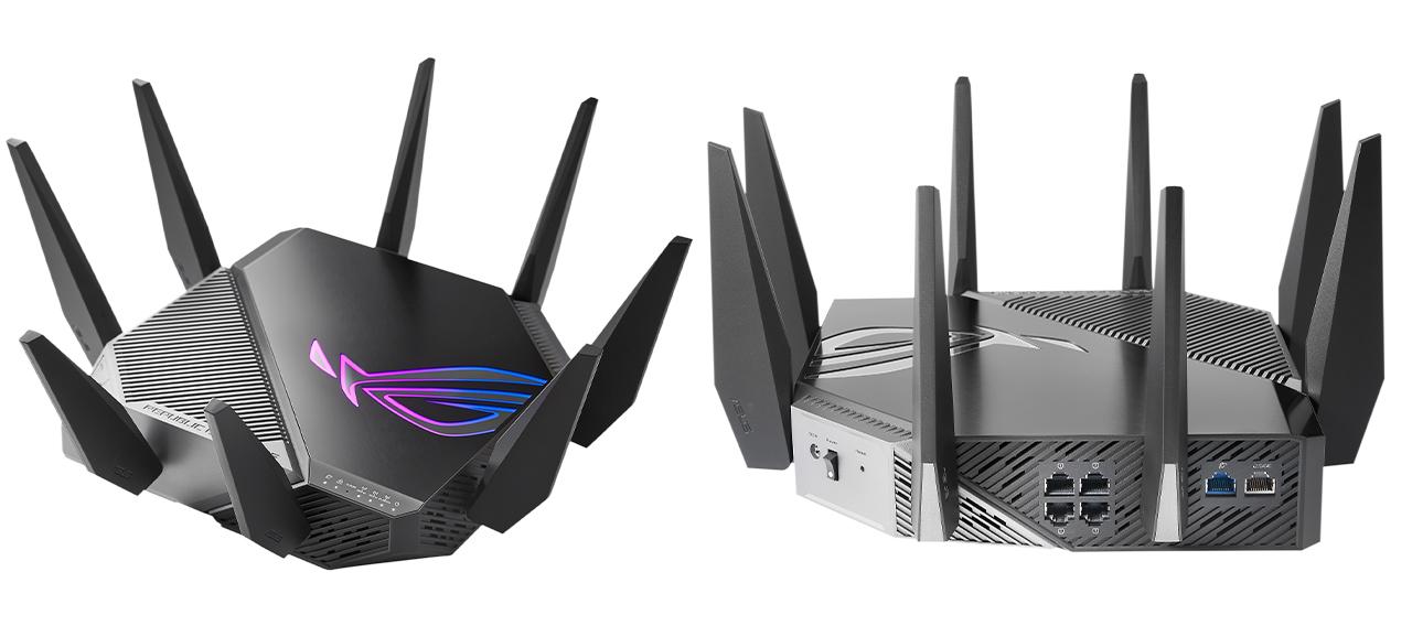 router wifi 6e asus rog GT-AXE11000
