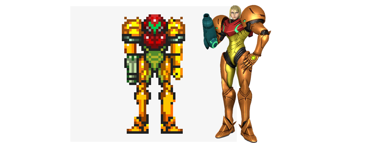 samus aran immagini donne videogioco metroid