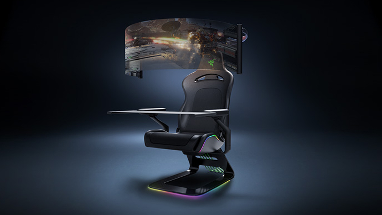 sedia gaming razer project Brooklyn ces 2021