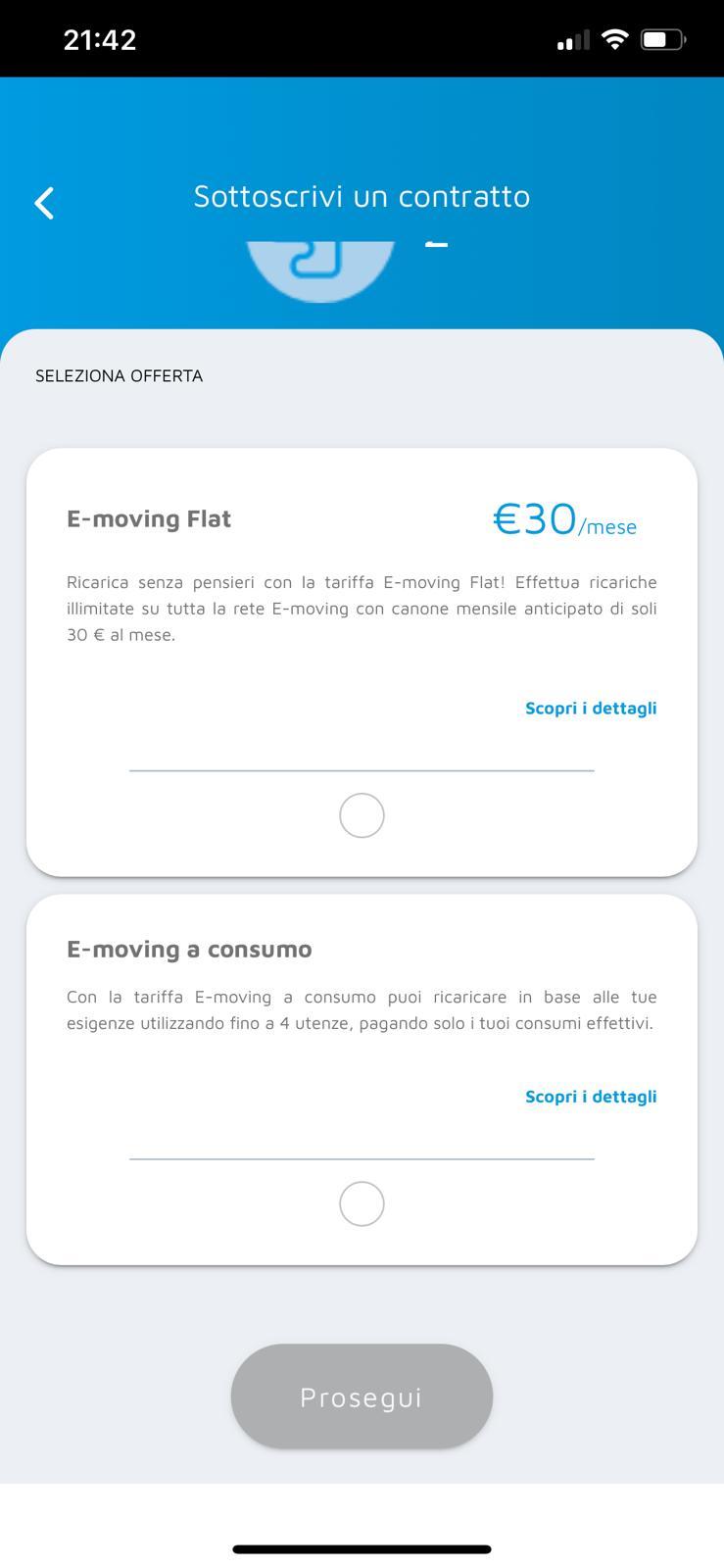 tariffa flat emoving a2a applicazione