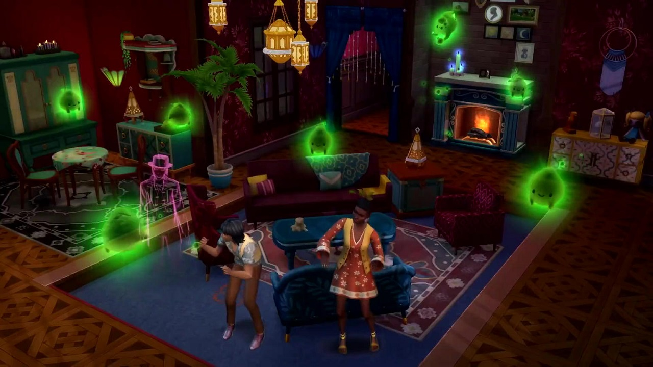 I fantasmi infestano The Sims 4 con il pacchetto Fenomeni Paranormali thumbnail