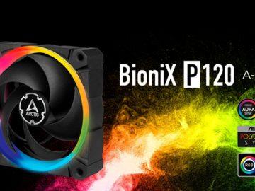 ventola pc arctic bionix p120 a-rgb