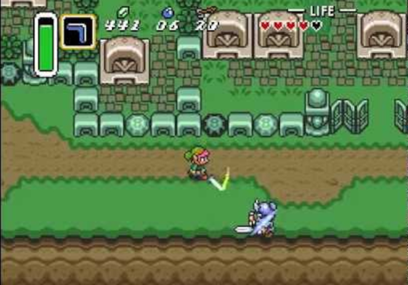 A link to the past snes the legend of zelda 1991