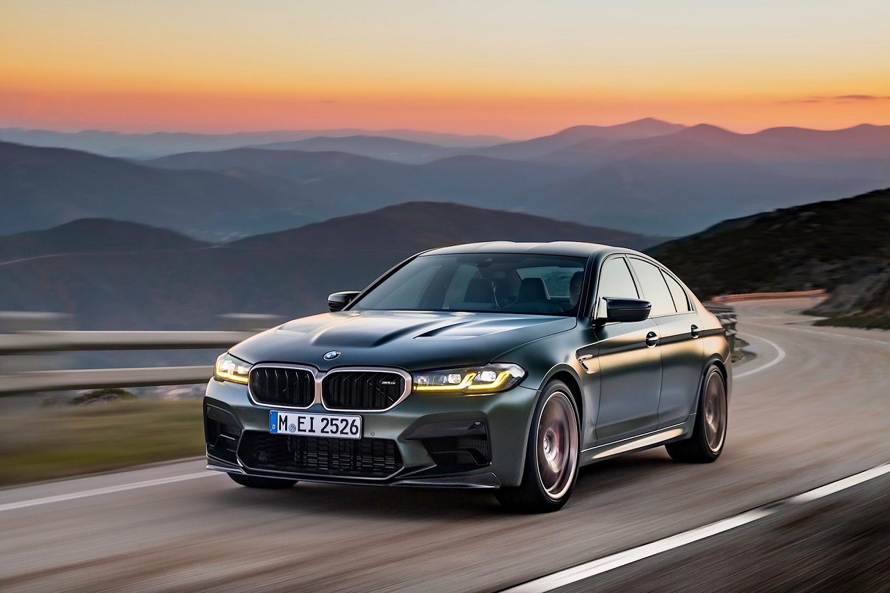 BMW M5 CS: la nuova sportiva è la M5 più potente di sempre thumbnail
