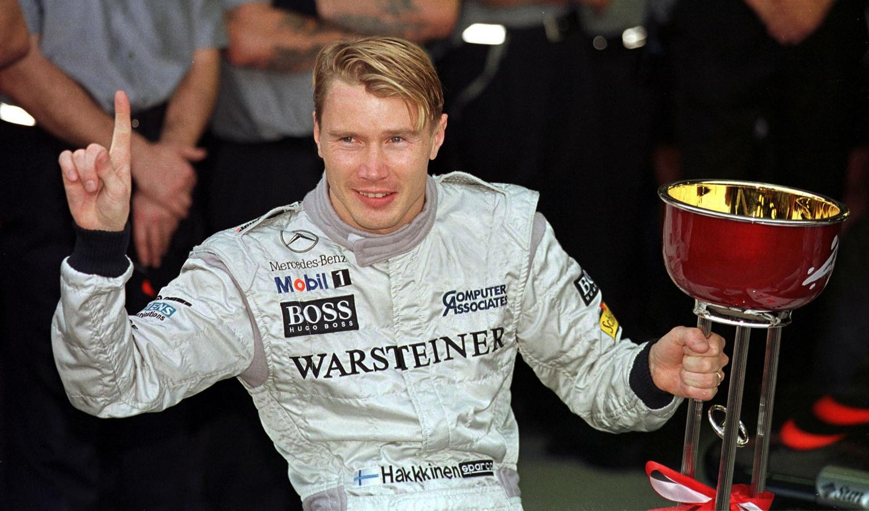 Mika Hakkinen 1998