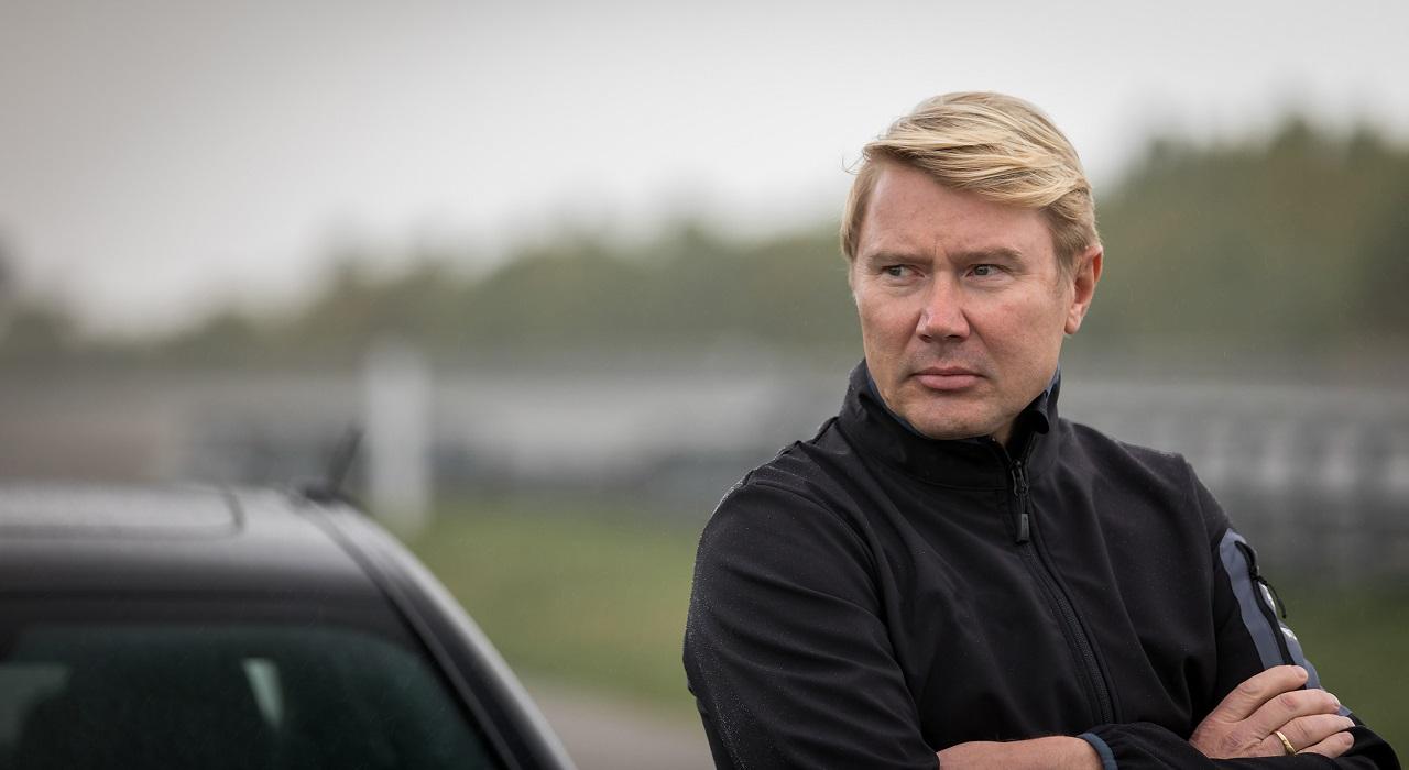 Centro prove Nokian Mika Hakkinen
