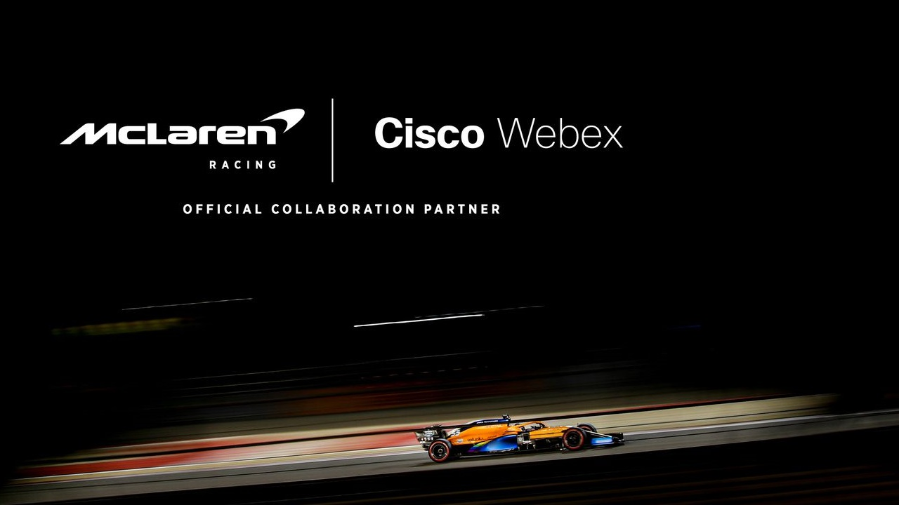 Cisco Webex è Official Collaboration Partner di McLaren Racing thumbnail
